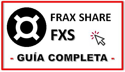 Cómo Comprar Criptomoneda Frax Share FXS Coin