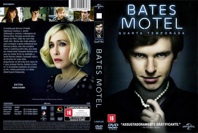 Capa DVD Bates Motel Quarta Temporada Completa