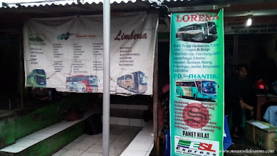 pilihan bis jurusan Bandung Pekalongan agen bis Shantika dan Kramat Djati Cimahi