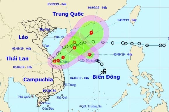 Áp thấp nhiệt đới đi vào đất liền rồi lại quay ra biển mạnh lên thành bão