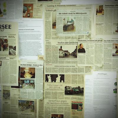 Zeitungsseiten vom Ammersee