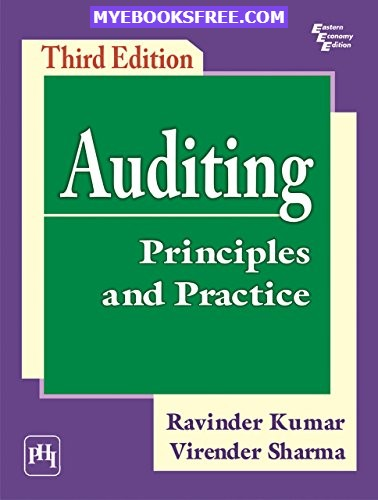 Auditing: Principles and Practice PDF Download