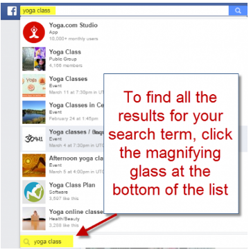 How to Search Posts on Facebook