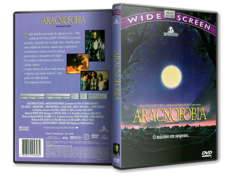 Capa DVD Aracnofobia