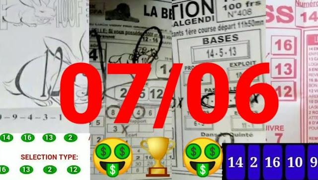 Pronostic quinté+ pmu lundi Paris-Turf TV 07/06/2021