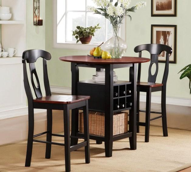 Gambar Model Meja Makan 2 Kursi Minimalis untuk ruang makan sempit atau kecil