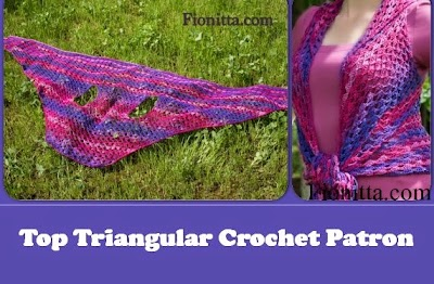 Top Triangular Crochet Patron