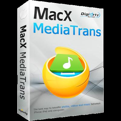 برنامج ماك اكس ميديا 2020 MacX MediaTrans | بديل ايتونز لنقل الملفات من ايفون للجهاز