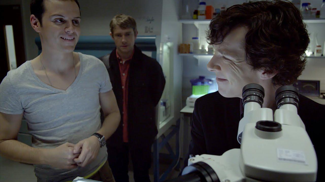 Revealed In Time: Sherlock - Season 1