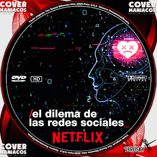 GALLETA EL DILEMA DE LAS REDES SOCIALES - THE SOCIAL DILEMMA 2020[COVER DVD]