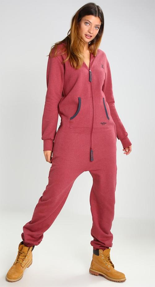 Combinaison pantalon femme rose Onepiece