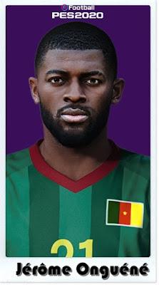 PES 2021 Faces Jérôme Onguéné by Shaft