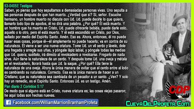Cómo llegar a ser un Cristiano - William Branham en Español