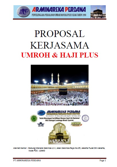 PROPOSAL KERJASAMA