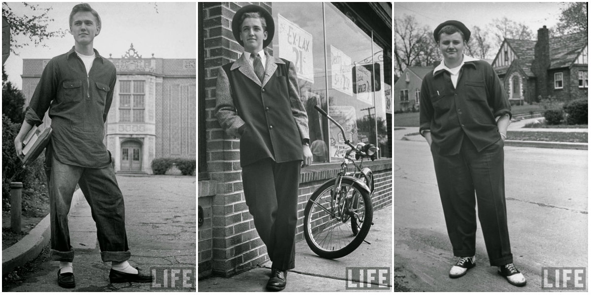 526cc74ec Portraits of American Teenage Boys of the 1940s ~ vintage everyday