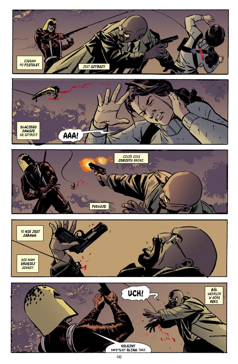 Gotham Central tom 4: Corrigan przykładowa strona