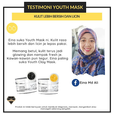 Koleksi Testimoni Youth Mask Shaklee