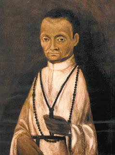 Pintura anónima de Fray Martín de Porres