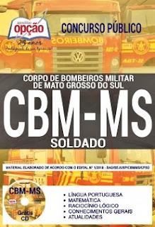 Apostila CBMMG 2018 Soldado