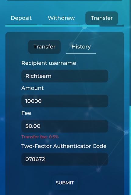 Cách Chuyển Tiền Nội Bộ Trong Magic Option
