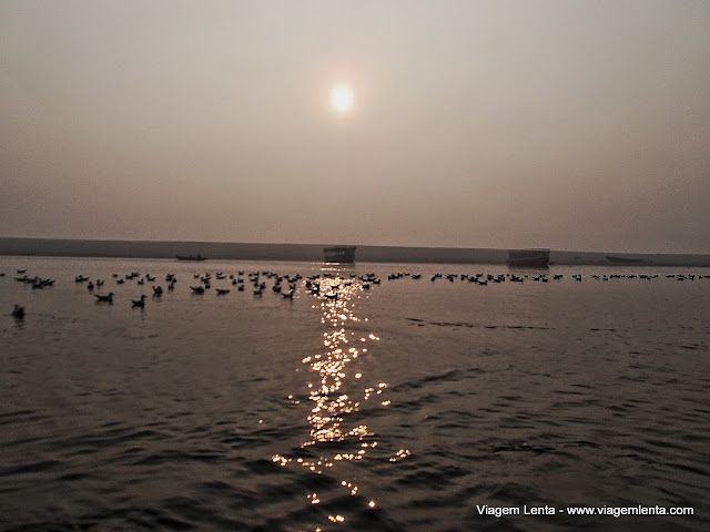 Nascer do sol em Varanasi
