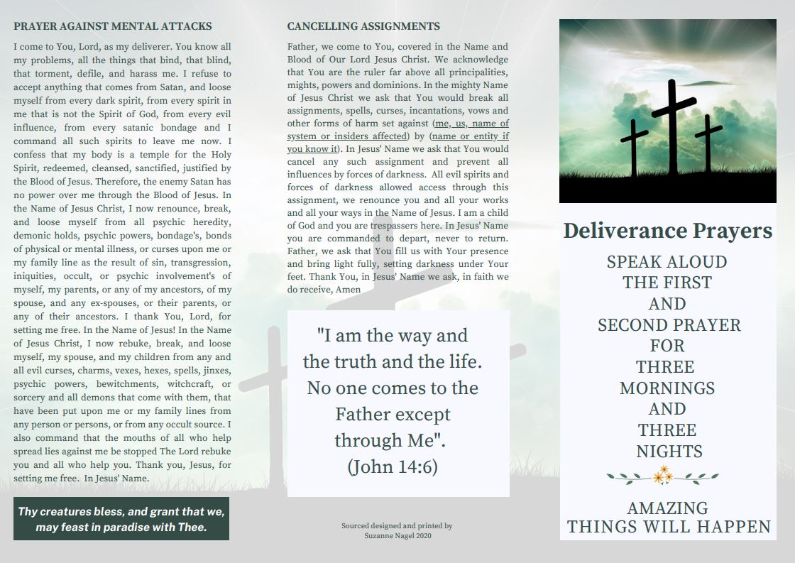 Deliverance Prayer - FREEDOM