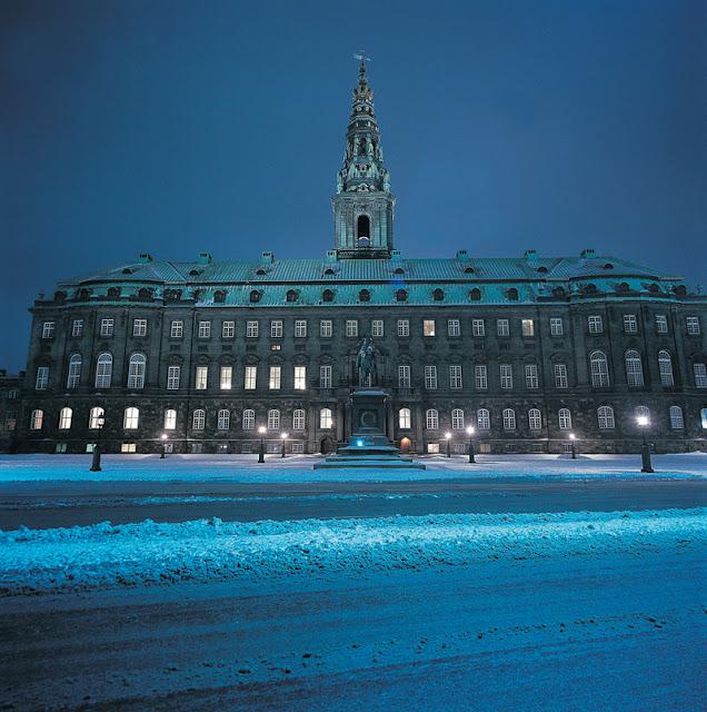 Christiansborg, Copenhagen, Dinamarca