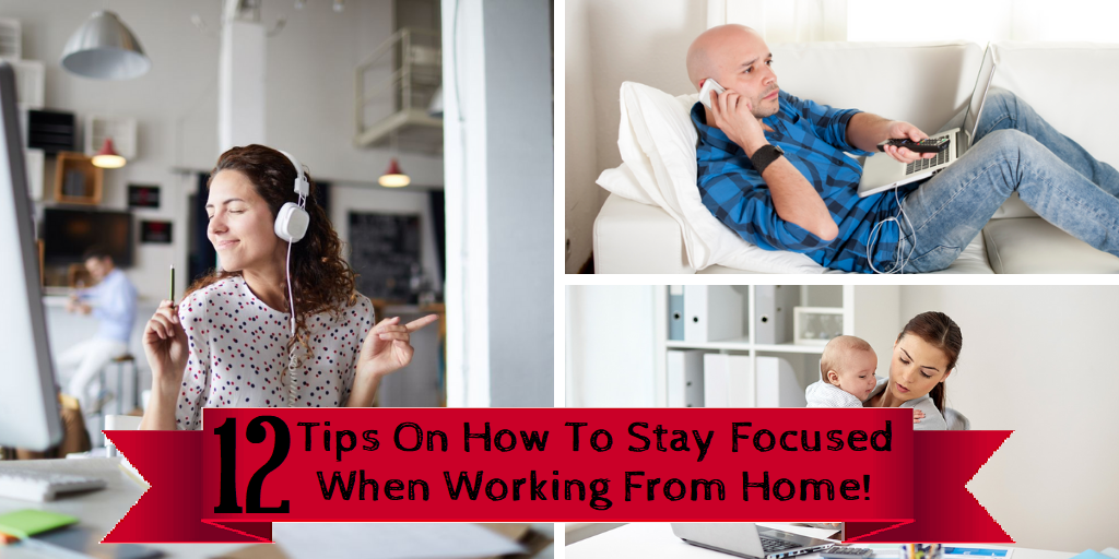 how to avoid distractions while working from home