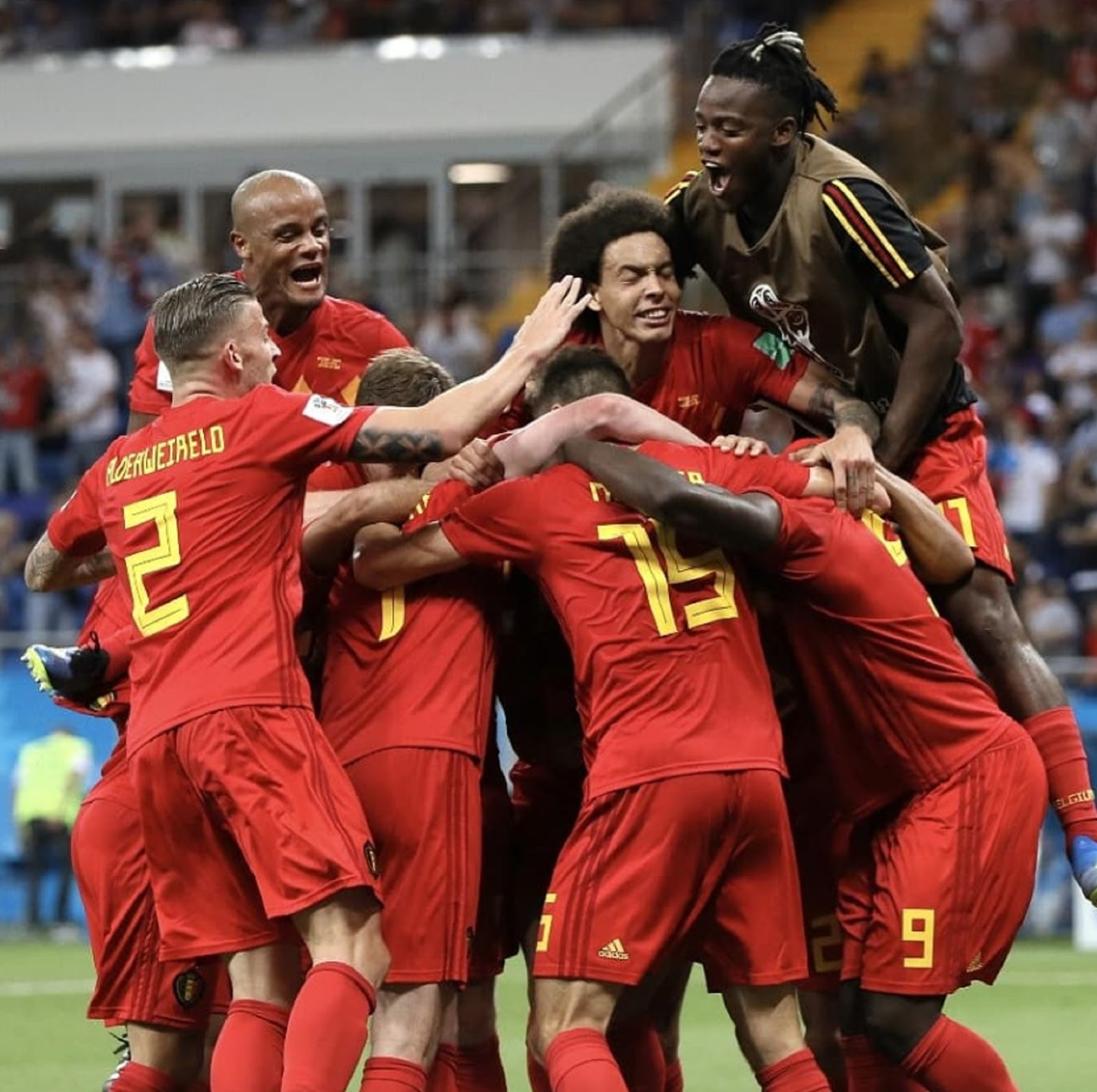 WORLD CUP, BELGIUM 2
