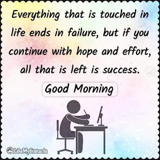 English good morning Motivation Quote