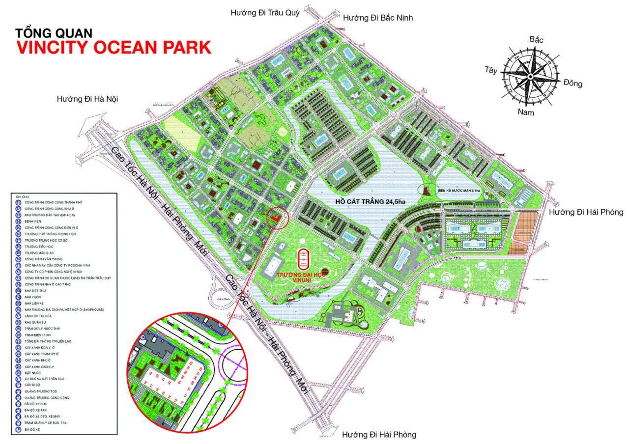 Tòa Park 12 VinCity Ocean Park Gia Lâm