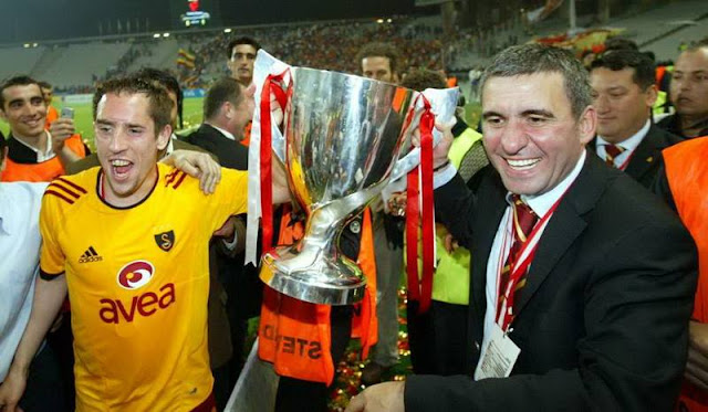 Hagi and Ribery Galatasaray 2005 Gheorghe Hagi Galata Istanbul Turkey photos