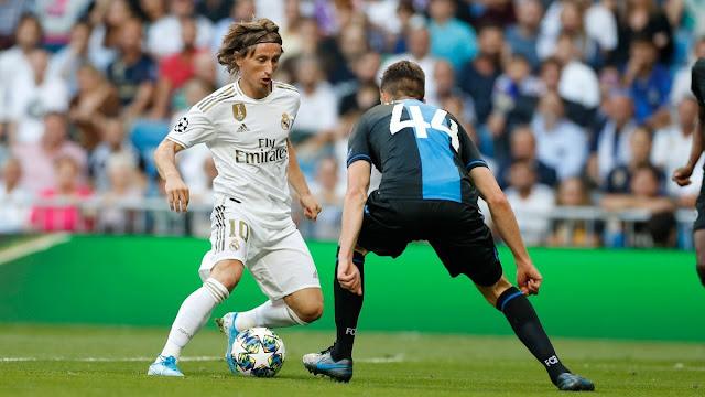 Hasil Pertandingan Liga Champion 2019 Matchday 2 : Real Madrid Ditahan Imbang Club Brugge