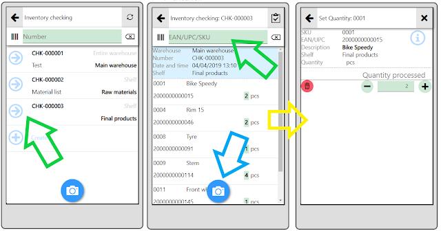 scanning barcodes mobile app