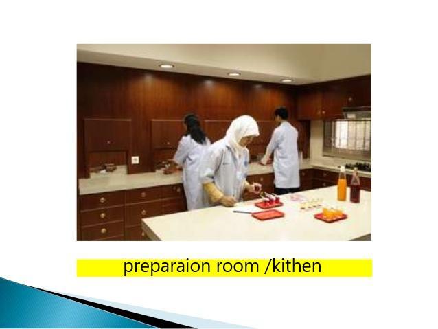 preparation room kithcen