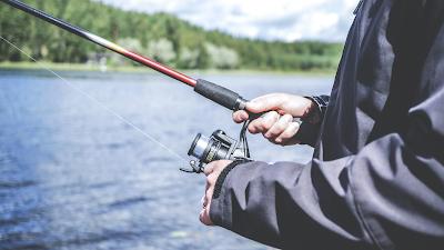 Salmon Fishing on the River Helmsdale, near Helmsdale Hostel