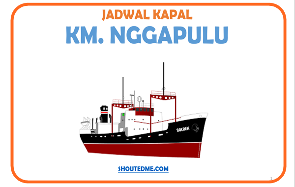 Jadwal keberangkatan kapal nggapulu 2019