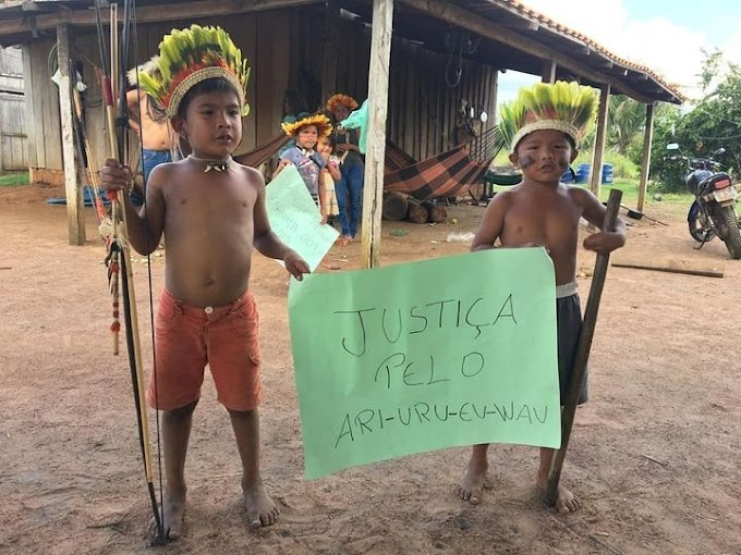 VÍDEO - Indígenas rondonienses cobram respostas para a morte de Ari Uru-eu-wau-wau