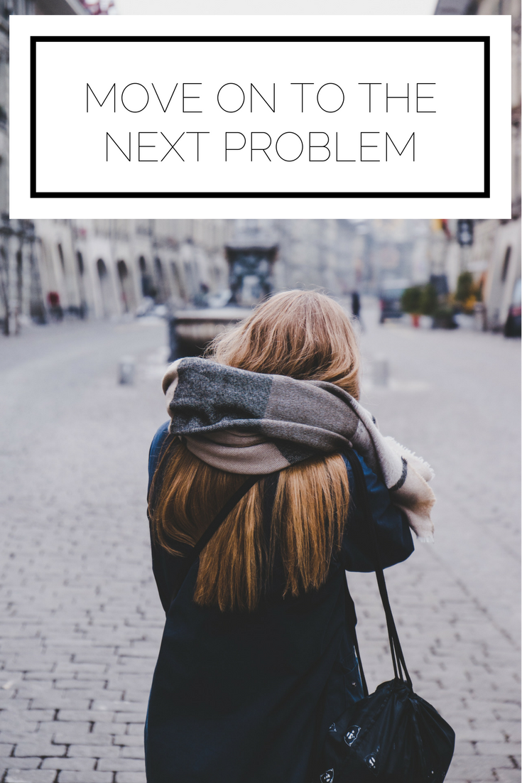 Click to read the article now, or pin to save for later. Do you often find yourself caught up in issues? Here is how you can instead keep yourself moving forward and on to the next problem