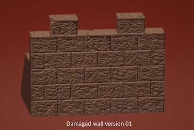 Damaged Wall Sections picture 3