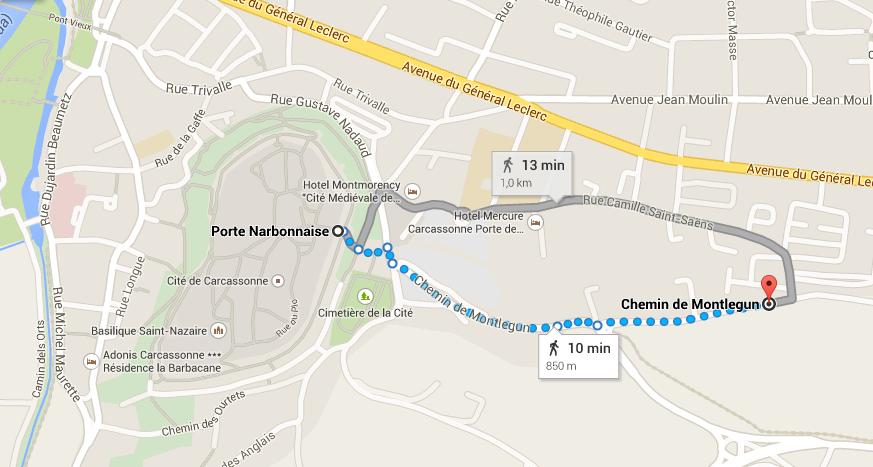 Car park Carcassonne