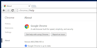 cara upgrade google chrome