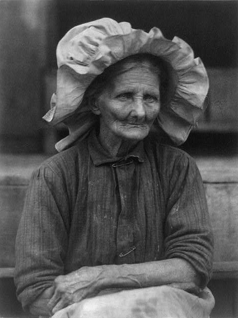 Old woman in sunbonnet by American photographer Doris Ulmann 1930s. Speak Your Mind and other stories of Grandmas and reason. marchmatron.com