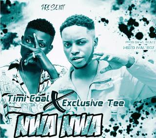 "Exclusive Tee X Timi Coal - ""NWA NWA"""