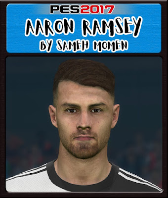 Ramsey Face For PES 2017 by Sameh Momen