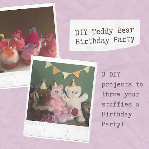 DIY Stuffie Birthday Party! 3 DIY Projects!