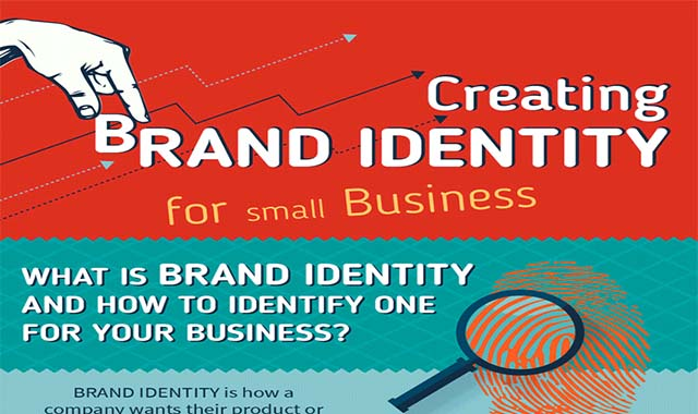 This is How to Create a Brilliant Brand Identity #infographic