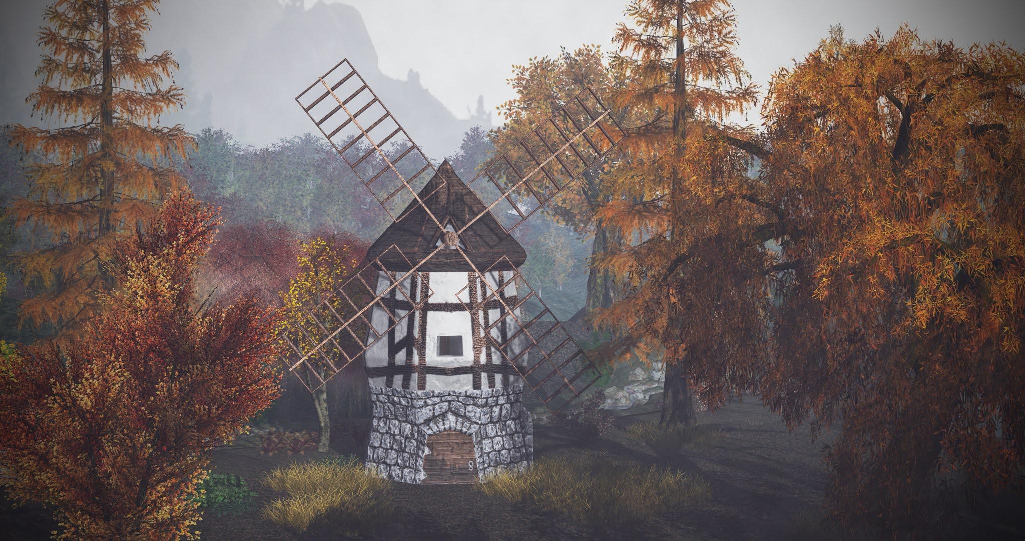 Windmill in the Autumn