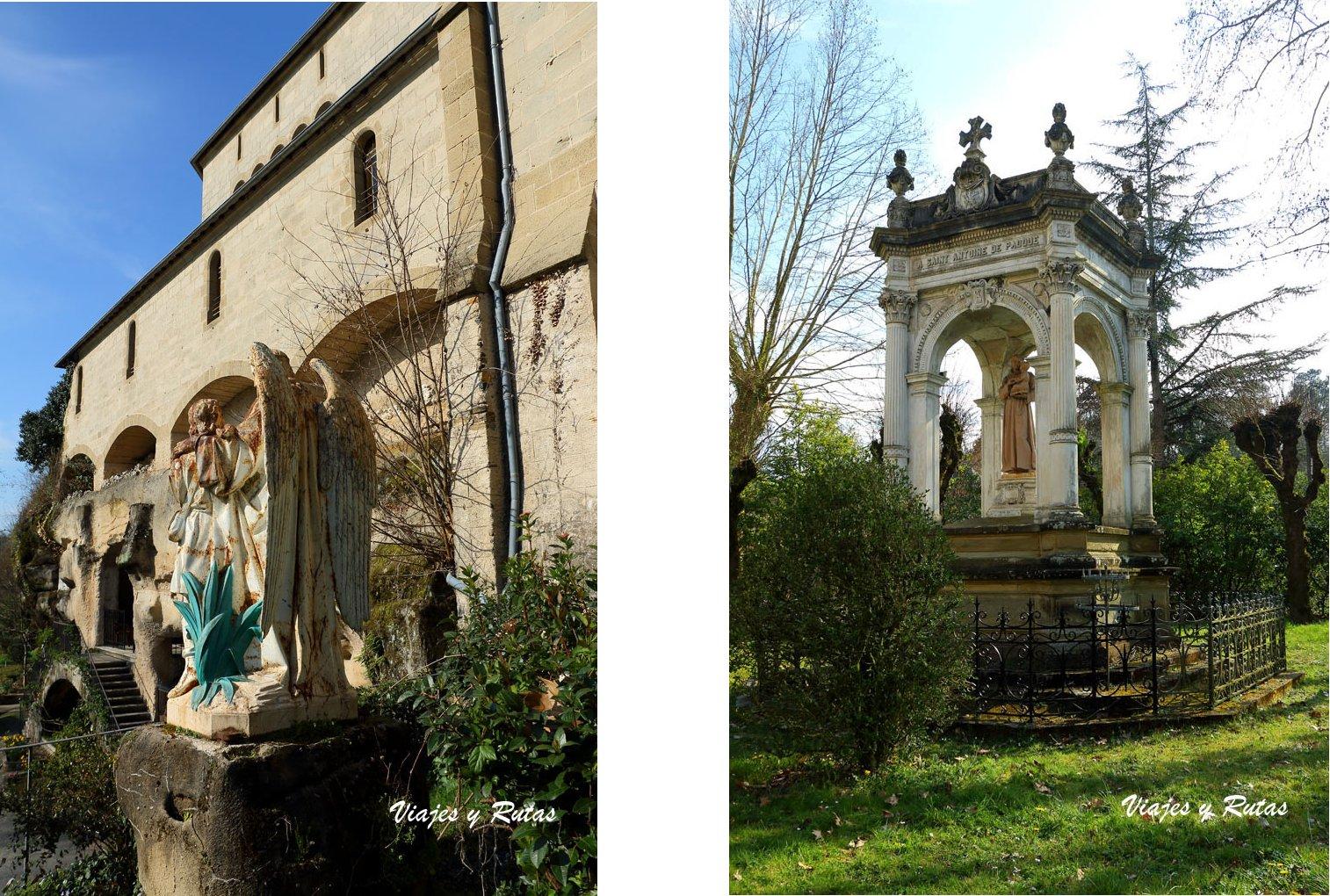 Grutas de San Antonio de Padua en Brive la Gaillarde