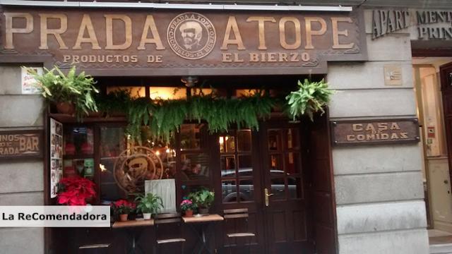PRADA A TOPE El Bierzo en el centro de Madrid  LA